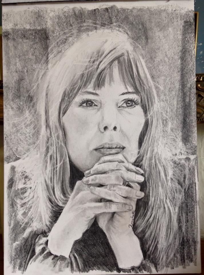 Joni Mitchell by mustangsal